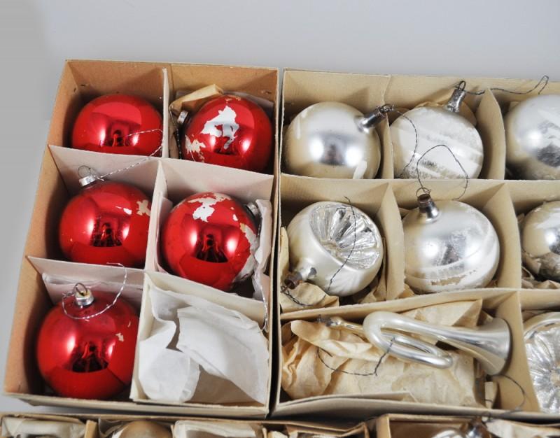 Alte weihnachtskugeln vintage christbaumschmuck glas trompete n sse glocke ebay - Weihnachtskugeln vintage ...
