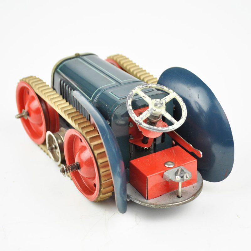 für Gescha Traktor Patent 71-2 Gummikette weiß
