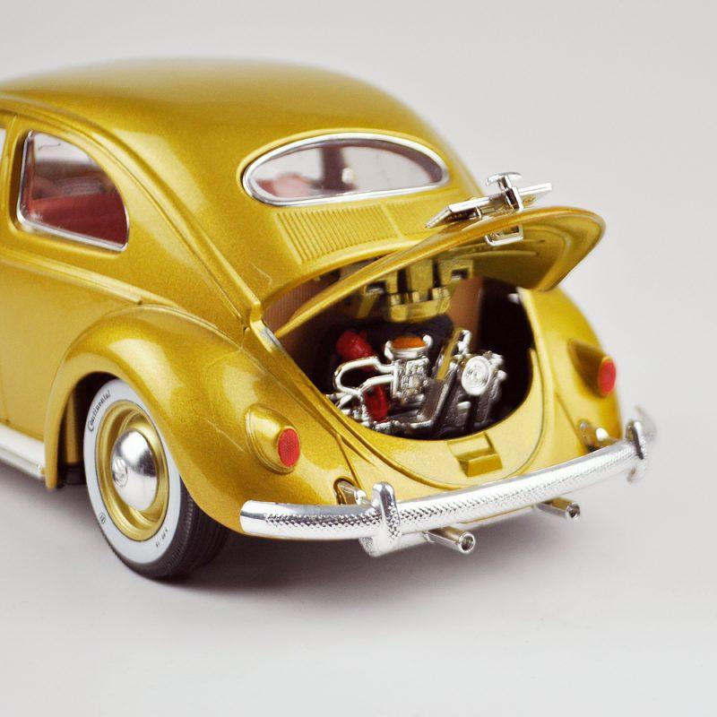 Beetle 118 Car Vw Model 1955 Diecast Metal Burago Spielzeugautos & Zubehör 1:18 Volkswagen Kafer-käfer