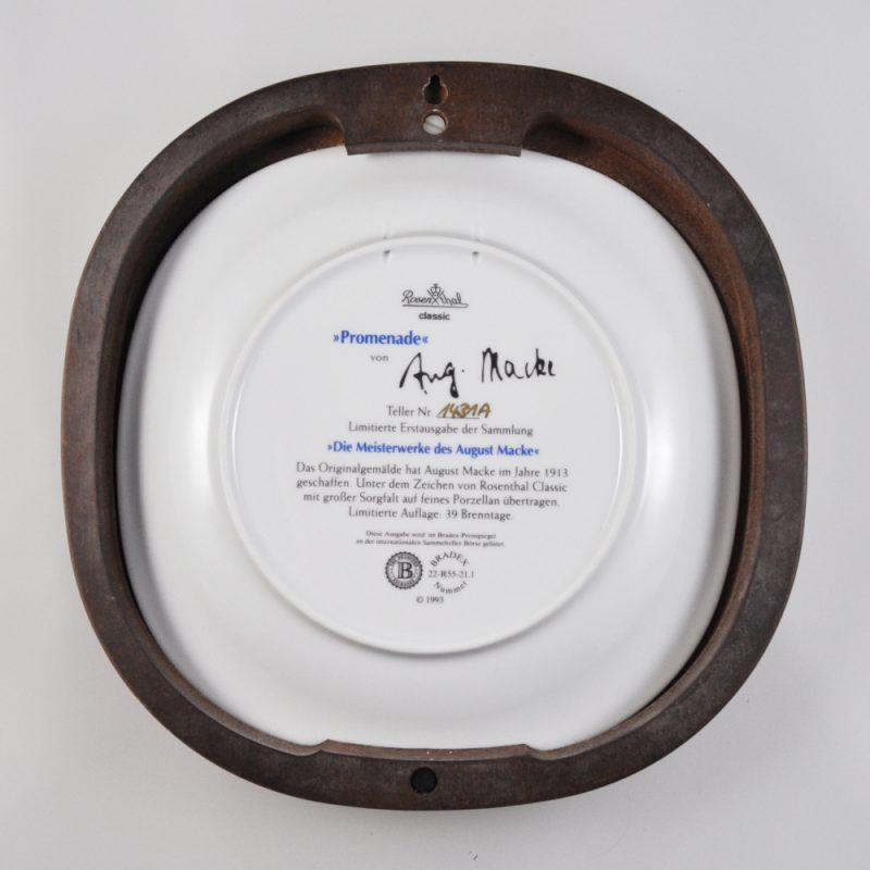 Untertasse 13,7cm Plus Kobalt Rosenthal