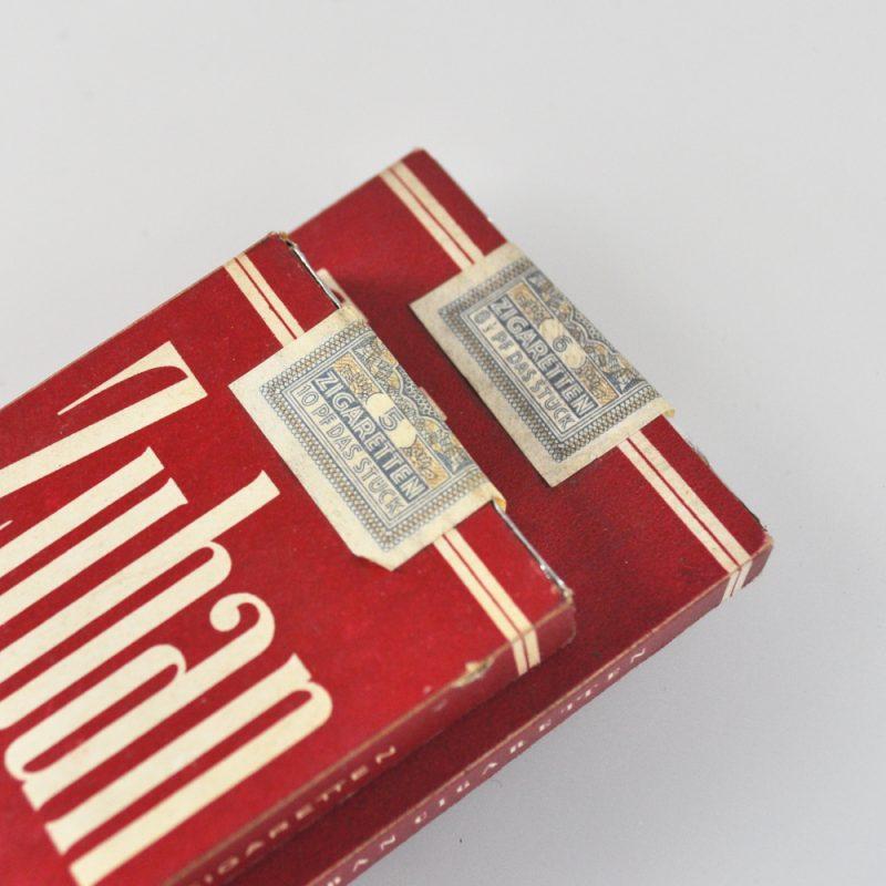 3 x Zuban Zigaretten - alte teilweise ungeöffnete